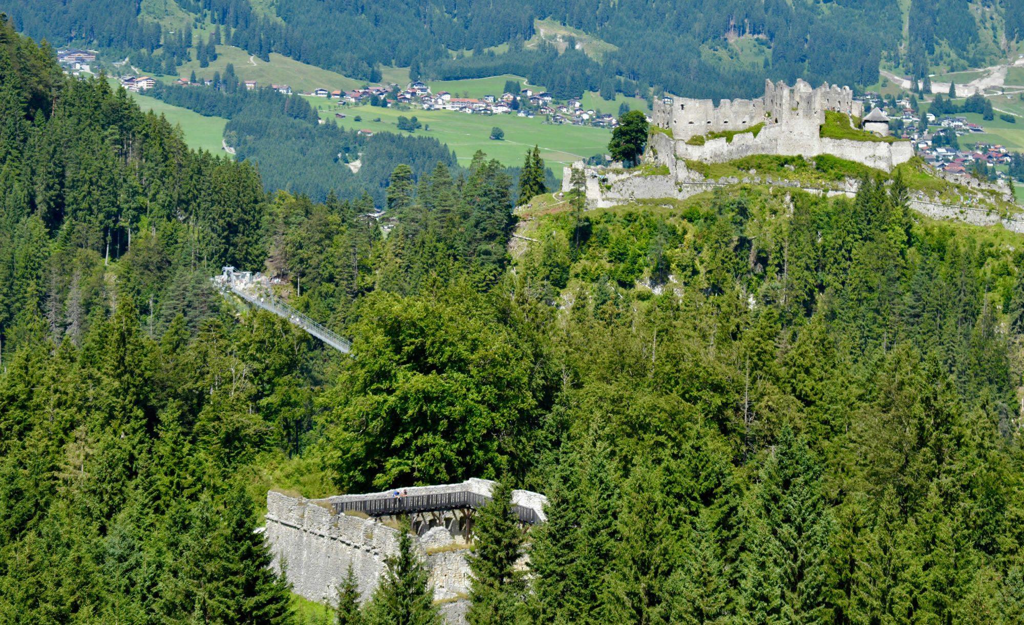 Das Fort Claudia Reutte